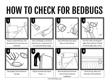 Bedbugs Tutorial Printable Board Game